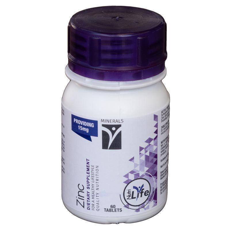 Zinc Tablets 60