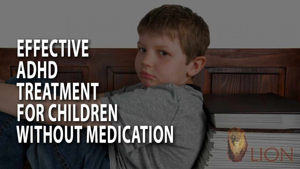Effective ADHD treatment for children without medication