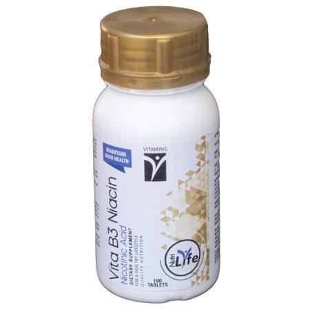 Niacin Tablets 100 tablets Vitamin B3